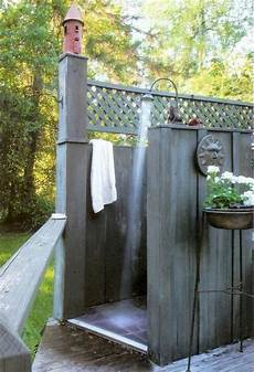 Outdoor Shower Ideas How To Choose The Best Material
