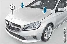 Aktive Motorhaube Mercedes Mercedes A Klasse Aktive Motorhaube Fu 223 G 228 Ngerschutz