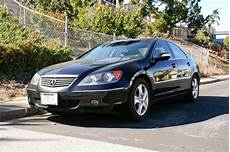 closed 2006 acura rl sh awd black black san