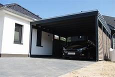 Carport Mit Tor Rolltor F 252 R Carport Luxury Carport Alu