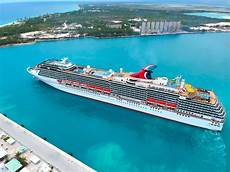 carnival sends cruise ships to freeport with hurricane supplies