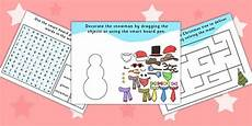 winter worksheets twinkl 20097 twinkl resources gt gt winter activity pack for iwb gt gt printable resources for primary eyfs ks1