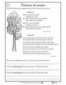 types of poetry worksheet 4th grade 25453 free language arts worksheet for 2nd and 3rd grades your child will practice reading