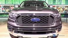 2019 ford ranger xlt exterior and interior walkaround