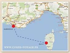 Distance Entre Marseille Et La Corse