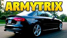2014 audi s4 armytrix exhaust b8 5 valvetronic youtube
