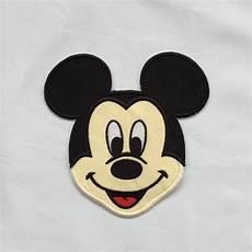 Micky Maus Gesicht Malvorlage Disney Inspiriert Smiling Mickey Mouse Gesicht Eisen Auf