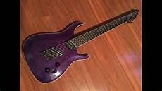 Unbiased Gear Review Kxk Sii 7 String Guitar