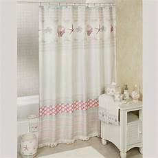 seashell shower curtain coronado seashell coastal shower curtain