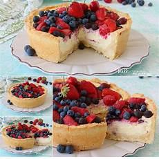 ricetta crostata al mascarpone e frutti rossi paneangeli crostata con crema e ricotta ai frutti rossi