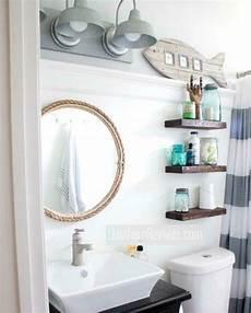 nautical bathrooms decorating ideas small nautical bathroom makeover with diy ideas nautical bathroom mirrors nautical bathrooms