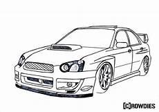Malvorlagen Auto Tuning Drawing Zeichnung Desene