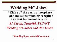 wedding mc joke collection
