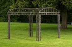 garten pergola metall luxus pavillon klassik eckig metall pavillion garten laube