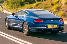 bentley continental gt 2018 early review parkers