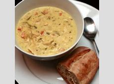 copy cat panera cream of chicken and wild rice soup_image