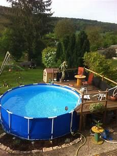 Id 233 E Am 233 Nagement Terrasse Pour Piscine Hors Sol Swimming