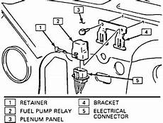 Where Is The Fuel Relay On A 89 K 5 Blazer