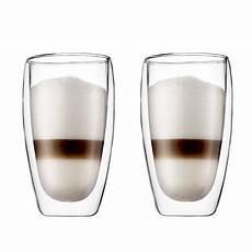 bicchieri bodum pavina latte macchiato glass bodum shop