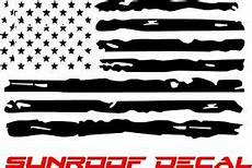 distressed american flag vinyl sunroof decal f150 dodge chevy ford jeep ebay