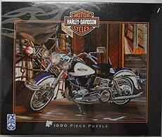 Harley Davidson Puzzles 1000 Pieces by Best Motorcycle Jigsaw Puzzles Made For A Biker