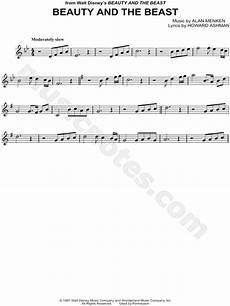 quot beauty and the beast quot from beauty and the beast sheet music violin solo in bb major