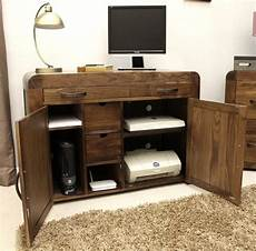 hidden home office furniture shiro solid walnut dark wood furniture hidden home office