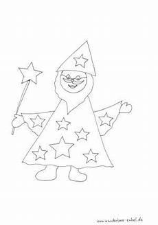 zauberer ausmalbilder kindergarten amorphi