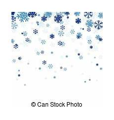 Snow Falling Clipart
