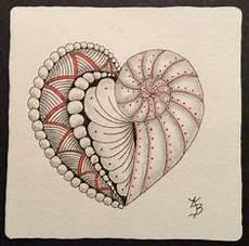 Malvorlagen Herz Challenge Challenge 324 Quot Hearts Quot Zentangle Zeichnungen