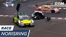 dtm norisring 2017 paffett s shocking crash dtm norisring 2017