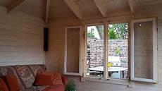 Gartenhaus Lillehus 40 Iso Aufbau Einrichtung Und Terrasse