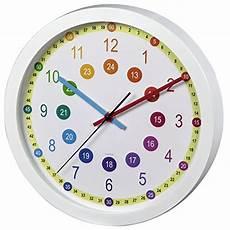 Hama Kinderwanduhr Zum Lernen Der Zeit Ohne Ticken Easy