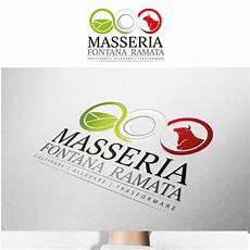 new designs from italian company masseria fontana ramata logo for italian agricultural