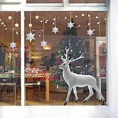 weihnachten fensterbilder weihnachtssticker skitic