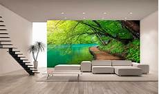 Forest Water Wall Mural Photo Wallpaper