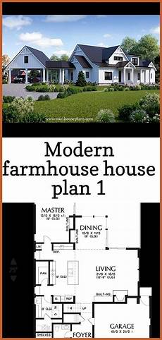 modern farmhouse house plan max fulbright designs image