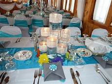 malibu blue and silver wedding decorations malibu blue wedding decorations malibu blue centerpiece with accents blue wedding