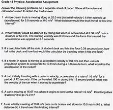 physical science speed worksheet 13186 net and acceleration worksheet answers briefencounters