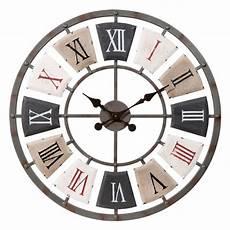 maison du monde pendule horloge en m 233 tal d 62 cm en 2019 d 233 co maison horloge