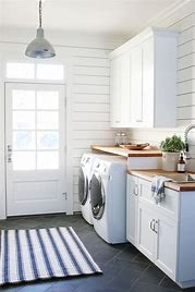 Image result for Farmhouse-Style Laundry Room