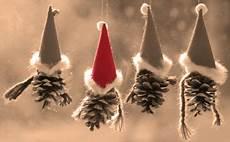 Wichtel Basteln Tannenzapfen - wunderschoen gemacht weihnachtsbasteleien