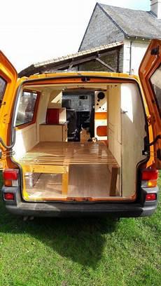 Fourgon Amenage Volkswagen T4 Muebles Para Carabanas