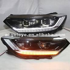 for vw passat b8 european version led headlights 2017 year