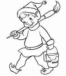 coloring page for image photos elves