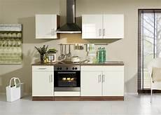 Küchenblock Mit Elektrogeräten - k 252 che mit elektroger 228 ten k 252 chenblock mit e ger 228 ten 210 cm