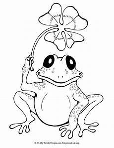 Malvorlagen Frosch Kostenlos Frog Coloring Frog Coloring For Free 2019