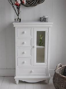 Standing Cabinet For Bathroom storage cabinet with glass doors homesfeed