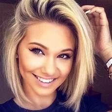 27 chic and gorgeous short hairstyles for round faces