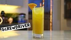 screwdriver tipsy bartender